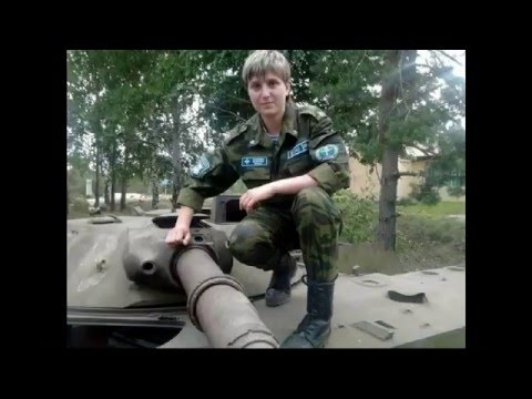 Military girl of Russia / Russian girl-marine