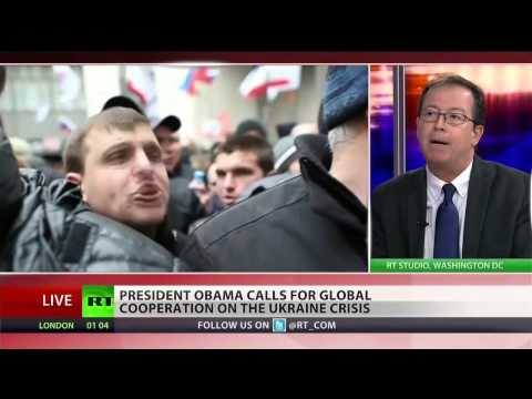 Ukraine, Crimea - Obama's Arrogant Posturing