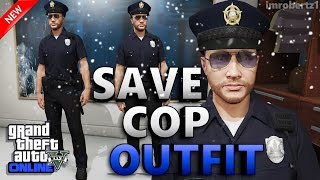 GTA 5 Online - Best Cop Outfit Glitch! How To Get Police Uniform! Cool Rare Clothing GTA 5 Glitches!