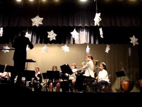 Glenvar Middle School Beginning Band 2010 Xmas