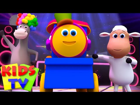 animal sound song | bob the train show | rhymes for kids | animals sound nursery rhymes