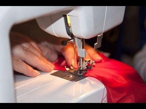 Как шить на машинке чайка 3