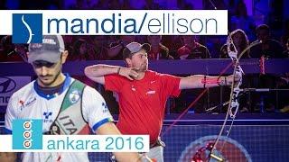 Massimiliano Mandia v Brady Ellison – Recurve Men's Bronze Final | Ankara 2016