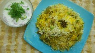 Hyderabad Biryani - Vegetable Biriyani in telugu
