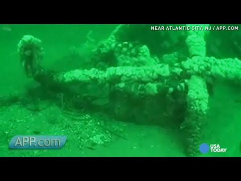 Crew explores N.J. shipwreck that time nearly forgot