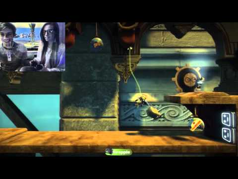Pewdie Plays: Little Big Planet 2 w/ Girlfriend! - Part 2