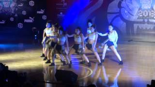 Hong Kong Best Dance Crew 2013-Blazing Vibes