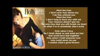 Watch Holly Dunn Only When I Love video