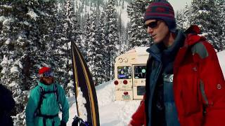 Freeriding with Shaun White in CO