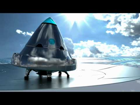 Aurora Spacelines Concept - Remote Laser Powered Orbital Travelling
