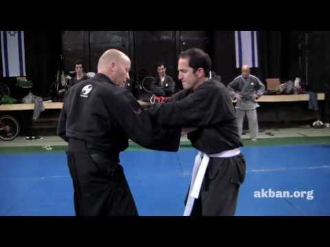 Shoulder arm lock with a short Ninjutsu chain - AKBAN techniques Image 1