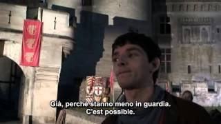 "Merlin S01 - Video Diary 2 : ""Colin and Bradley"" - sub ita"