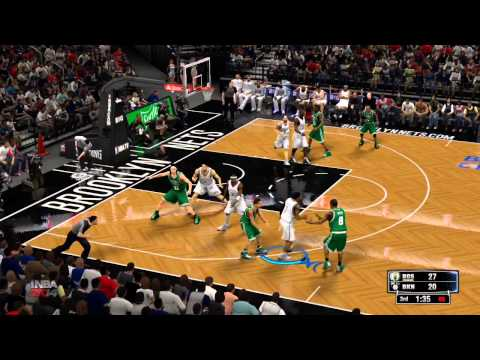 NBA 2K14 Gameplay - Boston Celtics vs Brooklyn Nets Full Game