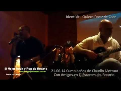 Identikit - Quiero Parar de Caer (Con Amigos) 2014
