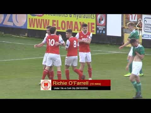 Goal: Richie O'Farrell (Under 19s vs Cork City 06/10/2018)