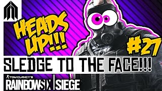 Rainbow Six: Siege Funny Moments! - Sledge to the Face, Hail Mary Nitro C4 & Rook the Traitor
