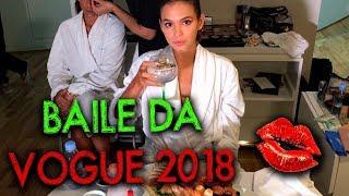 Bruna Marquezine, Marina Ruy Barbosa, Rafael Uccman no Baile da Vogue 2018 | #HotelMazzafera