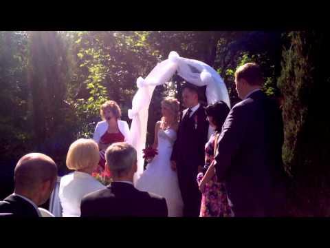 Выездная церемония бракосочетания!