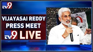 YCP MP Vijaya Sai Reddy Press Meet LIVE || Hyderabad