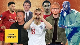Sports Personality of the Year: Celebrity fans reveal shortlist | BBC Sport