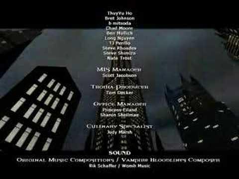 Creditos Vampire Masquerade Bloodlines