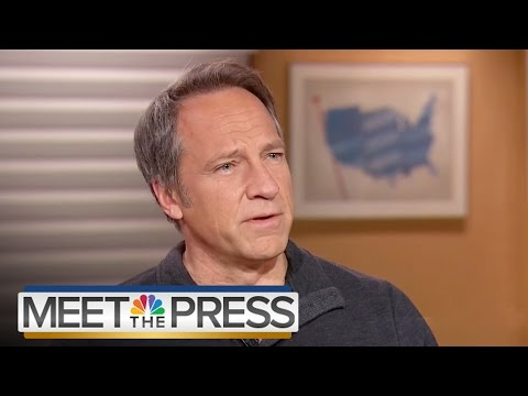 Mike Rowe: 'Dirty Jobs' Reached Same People As Donald Trump's Campaign | Meet The Press | NBC News