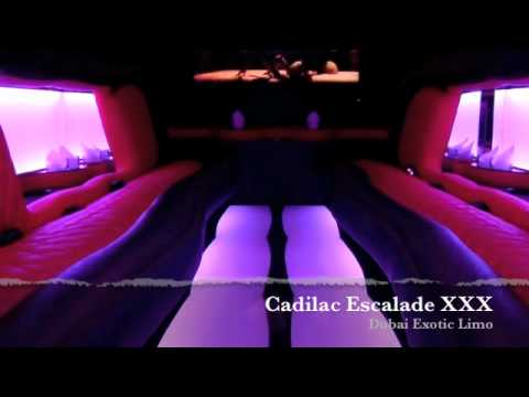 Cadilac Escalade Xxx - Dubai Exotic Limo video