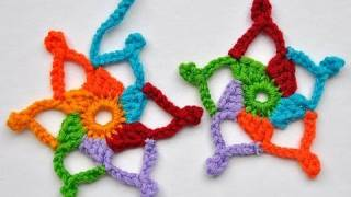"Advent Calendar * December 23 * Crochet Stars ""Dennis & Gilles"""