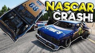 BIGGEST NASCAR STOCK CAR OVAL CRASH  Next Car Game