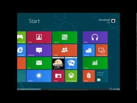 Como Descargar E Instalar Windows 8 En Su Version Completa.[Links