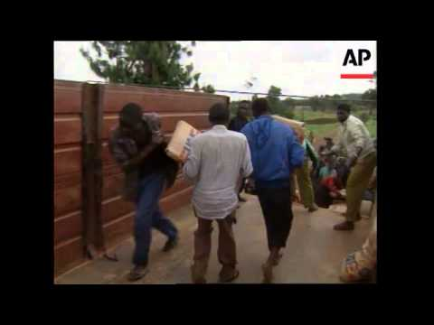 ZAIRE/UGANDA: REFUGEES FLEE FROM ADVANCING TUTSI REBELS UPDATE