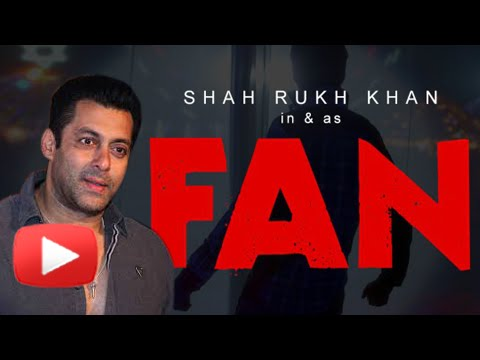 Salman Khan Reacts On SRK's Fan Teaser