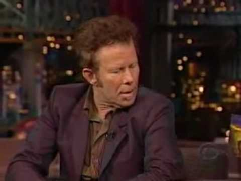 Tom Waits: All the World is Green - Letterman (May 8 2002)
