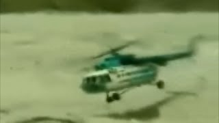 Helicopter Crash on Mount Everest Russian MI-17 Crashes after Takeoff from Mountain Base Camp Nepal