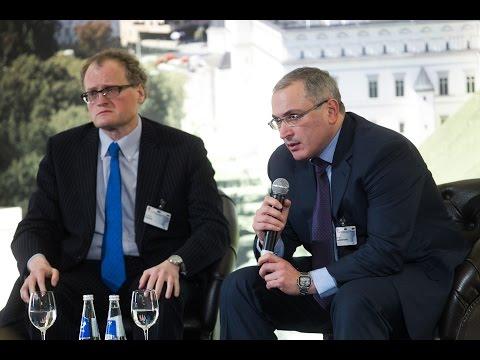 Mikhail Khodorkovsky in Vilnius Forum