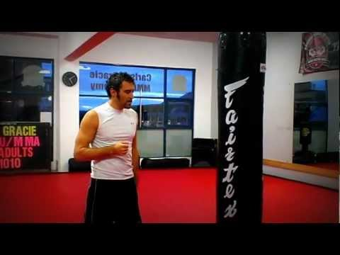BOXING, KICKBOXING, MMA, How to  right hook #4 punch.MPG Image 1