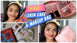 Basic & Affordable Travel Skin Care Routine | My Travel Makeup Bag Essentials