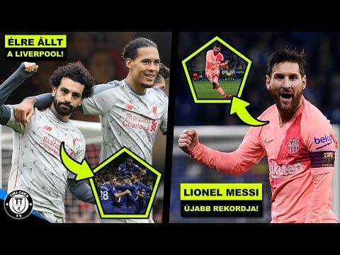 Kikapott A Man. City, élen A Liverpool! Messi A Szabadrúgás-király! | Foci Hírek