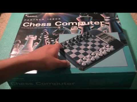 Chess Computer Partner 1680X Radioshack Unboxing: