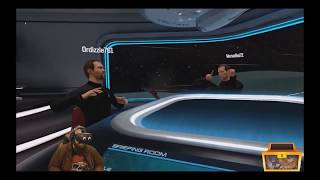 Funny Twitch Stream Moments W/ Burke Black, Bikeman, Venalis & Randoms (Star Trek: Bridge Crew) VR