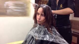 Ein neuer Haarschnitt für eine Polizistin vom Lande - Umstyling vorher - nachher