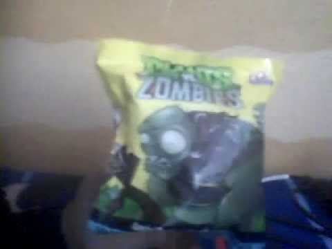Llavero de plantas vs zombies gamesa