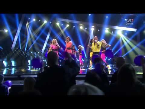 Alcazar - Medley (feat. Danny Saucedo) live @ Melodifestivalen 2013 Malmö