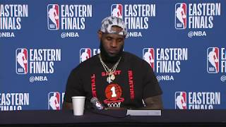 LeBron James Postgame Interview | Celtics vs Cavaliers Game 6