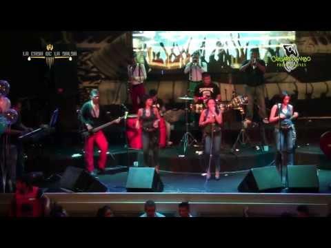Pensar Entre Dos   La Caro Band   La Casa De La Salsa 01 02 14