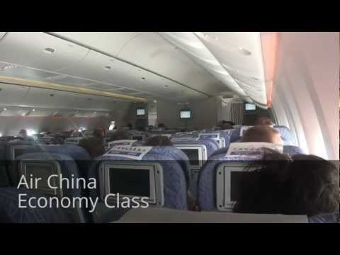 Inside Air China Boeing 777-300ER