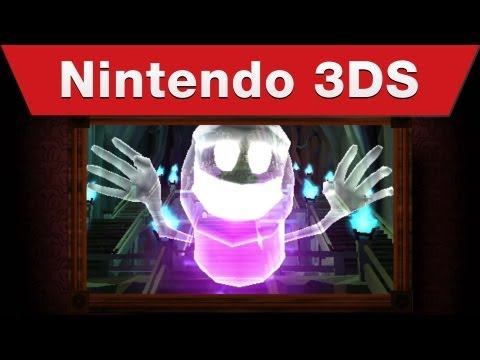 Nintendo 3DS - Luigi's Mansion: Dark Moon Launch Trailer