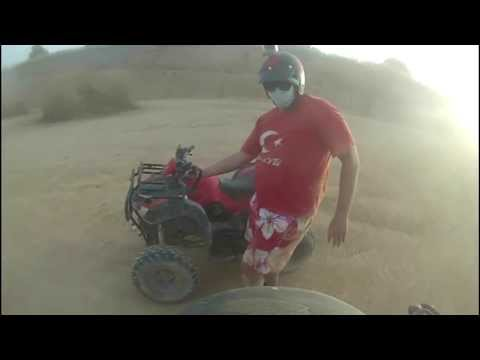 Thailand. Pattaya. December 2013. Russian Tourist Drift Atv video
