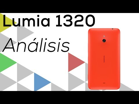 [Análisis] Nokia Lumia 1320 (en Español)