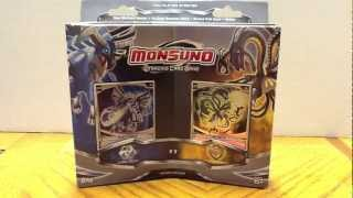 "Monsuno Box Opening - Two Player Starter Box ""Core-Tech and S.T.O.R.M."""
